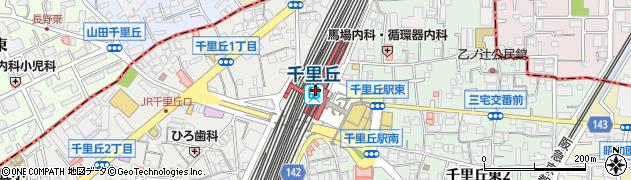 大阪府摂津市周辺の地図