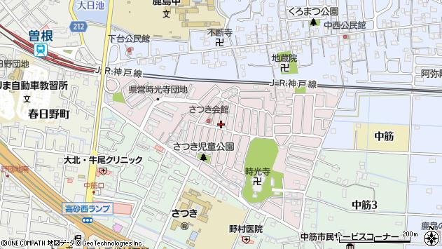 〒676-0813 兵庫県高砂市時光寺町の地図