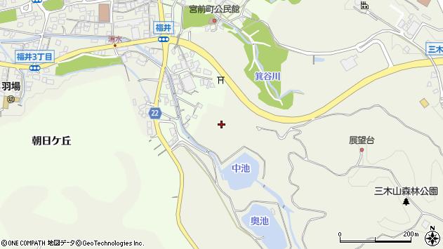 〒673-0433 兵庫県三木市福井の地図