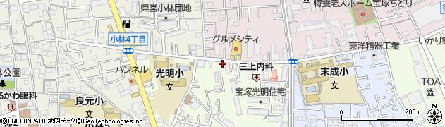 クリーニングやました株式会社 新洗蔵小林店周辺の地図