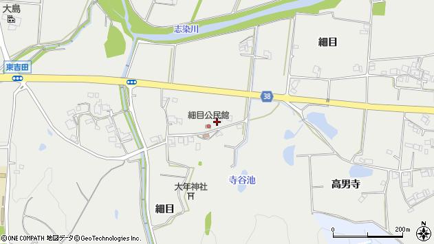 〒673-0505 兵庫県三木市志染町細目の地図