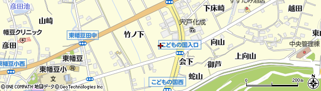 愛知県西尾市東幡豆町(向山下)周辺の地図