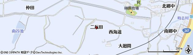 愛知県美浜町(知多郡)時志(二反田)周辺の地図