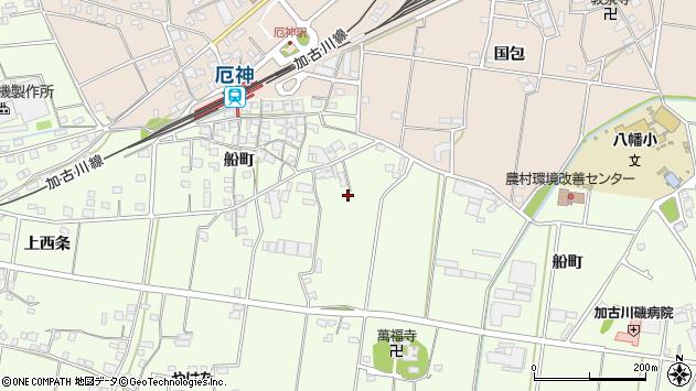 〒675-1206 兵庫県加古川市八幡町船町の地図