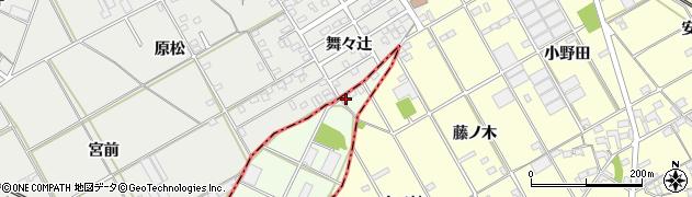 愛知県豊橋市日色野町(山神)周辺の地図