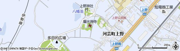 円光寺周辺の地図