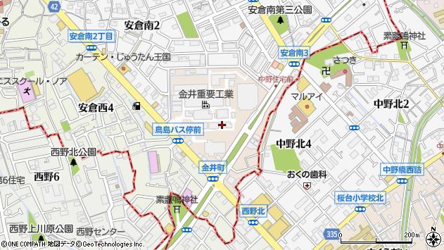 〒665-0824 兵庫県宝塚市金井町の地図