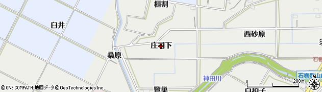 愛知県豊橋市石巻本町(庄司下)周辺の地図