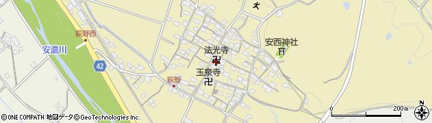 法光寺周辺の地図