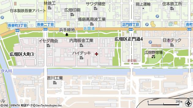 〒671-1155 兵庫県姫路市広畑区大町の地図