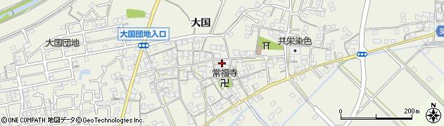 兵庫県加古川市西神吉町(大国)周辺の地図