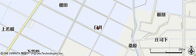 愛知県豊橋市下条東町(臼井)周辺の地図