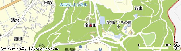 愛知県西尾市東幡豆町(南造田)周辺の地図