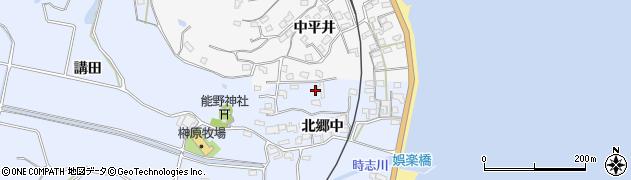 愛知県美浜町(知多郡)時志周辺の地図