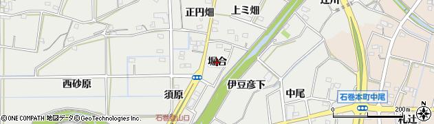 愛知県豊橋市石巻本町(堀合)周辺の地図