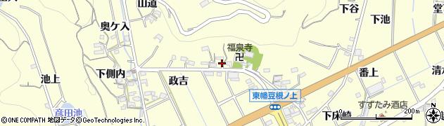 愛知県西尾市東幡豆町(三ツ塚)周辺の地図