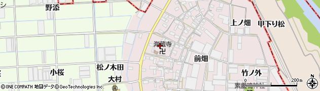 愛知県豊橋市長瀬町(郷西)周辺の地図