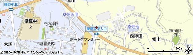 愛知県西尾市東幡豆町(鳶山)周辺の地図