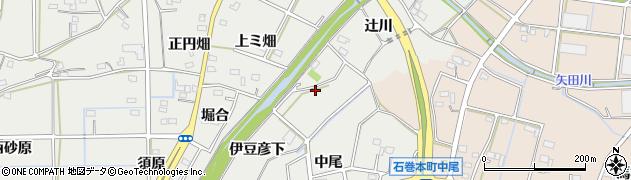愛知県豊橋市石巻本町(伊豆彦下)周辺の地図