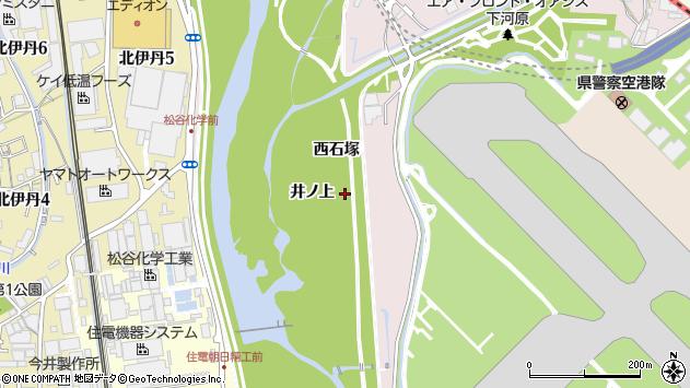 〒664-0838 兵庫県伊丹市中村の地図