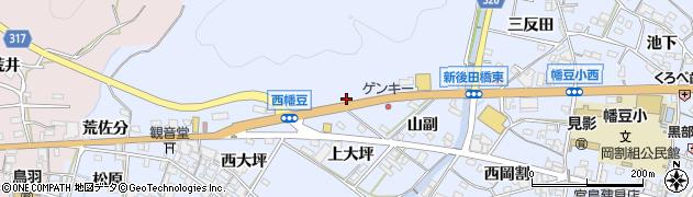 クロスロードハウス周辺の地図