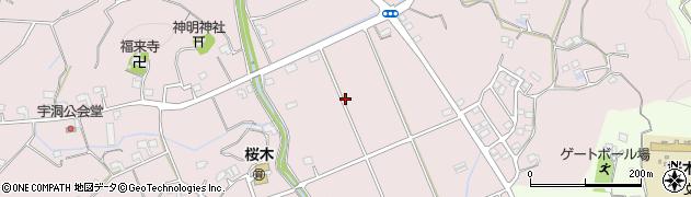 静岡県掛川市家代周辺の地図