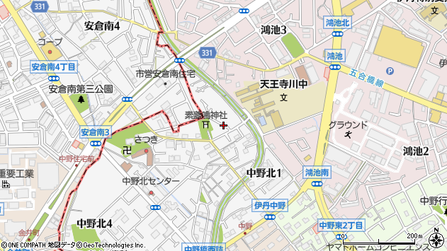 〒664-0029 兵庫県伊丹市中野北の地図