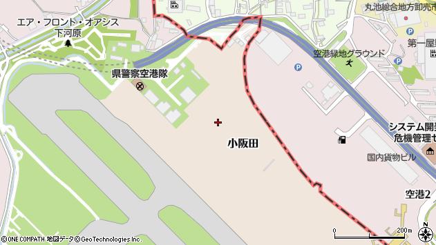 〒563-0801 兵庫県伊丹市小阪田食田の地図