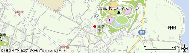 兵庫県加古川市東神吉町(天下原)周辺の地図