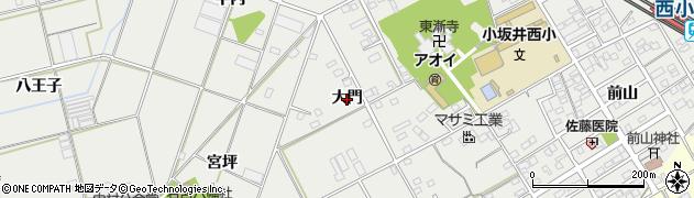 愛知県豊川市伊奈町(大門)周辺の地図