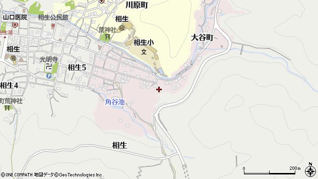 〒678-0043 兵庫県相生市大谷町の地図
