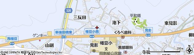 愛知県西尾市西幡豆町(菰田)周辺の地図