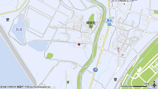 〒675-1232 兵庫県加古川市平荘町里の地図
