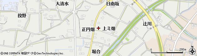 愛知県豊橋市石巻本町(上ミ畑)周辺の地図