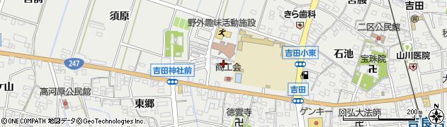 愛知県西尾市吉良町吉田(大切間)周辺の地図