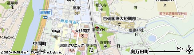 龍徳院周辺の地図
