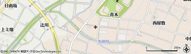 愛知県豊橋市石巻町(青木)周辺の地図