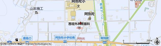 高砂市立公民館・集会場阿弥陀公民館周辺の地図