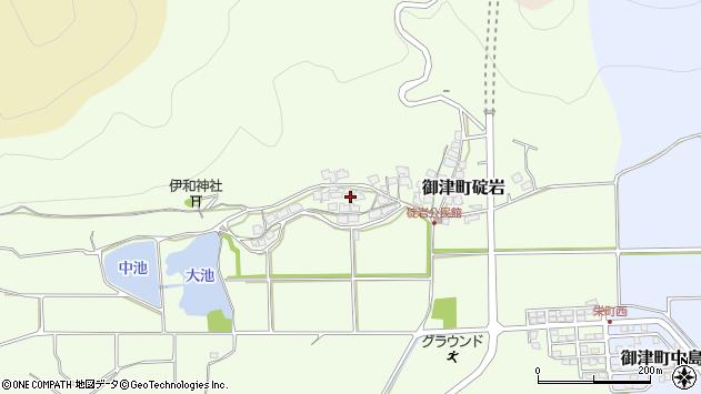 〒671-1312 兵庫県たつの市御津町碇岩の地図
