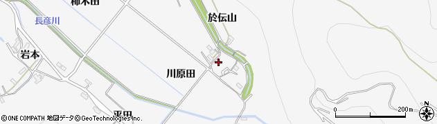 愛知県豊橋市嵩山町(川原田)周辺の地図