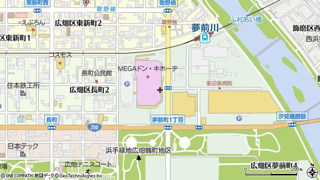 〒671-1122 兵庫県姫路市広畑区夢前町の地図