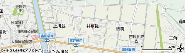 愛知県西尾市吉良町富好新田(井戸後)周辺の地図