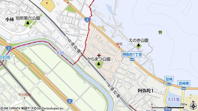 〒676-0816 兵庫県高砂市金ケ田町の地図