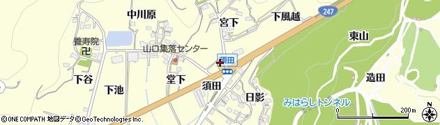 梅庄予約受付周辺の地図