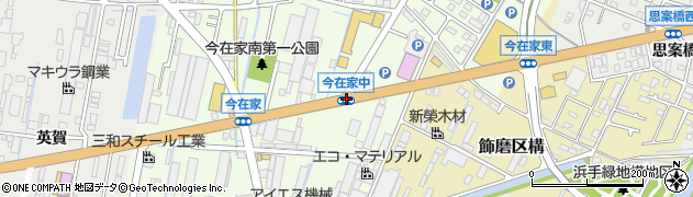 今在家中周辺の地図