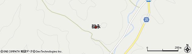 広島県神石高原町(神石郡)福永周辺の地図