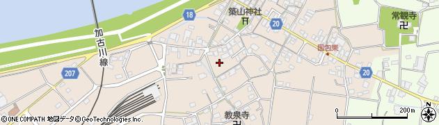 兵庫県加古川市上荘町(国包)周辺の地図