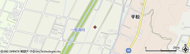 静岡県磐田市掛下周辺の地図