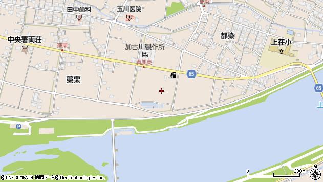 〒675-1216 兵庫県加古川市上荘町都染の地図