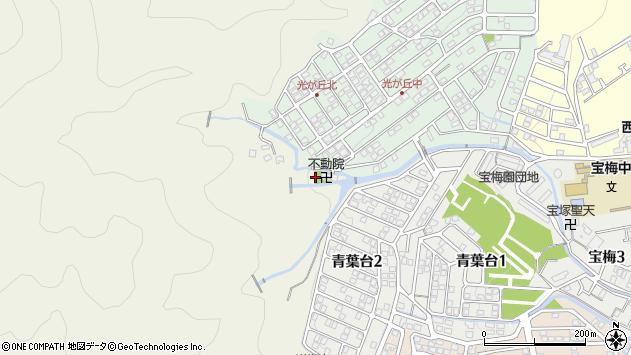 〒665-0017 兵庫県宝塚市小林西山の地図